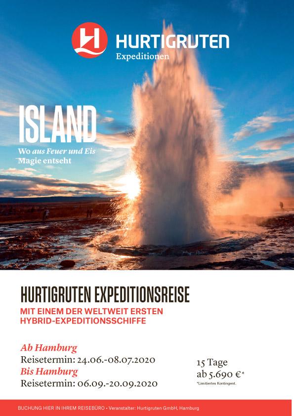 Island-Hurtigruten