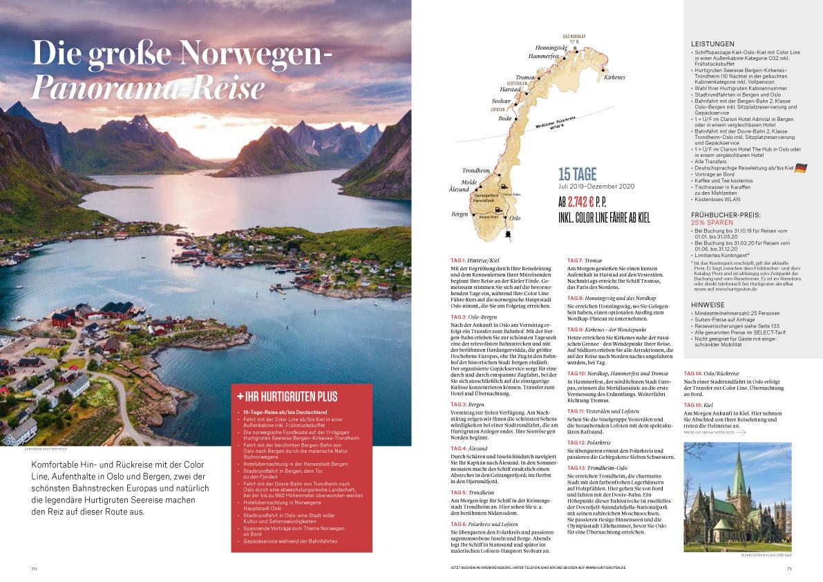 Norwegen-Panoramareise