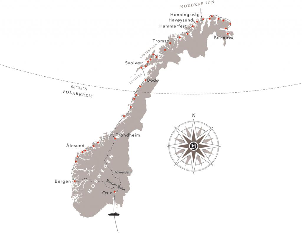 Hurtigruten-Angebote-Norwegen-Panorama-Reise