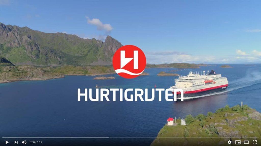 Hurtigruten Angebote: Panorama Reise Norwegen YouTube Video Vorschau