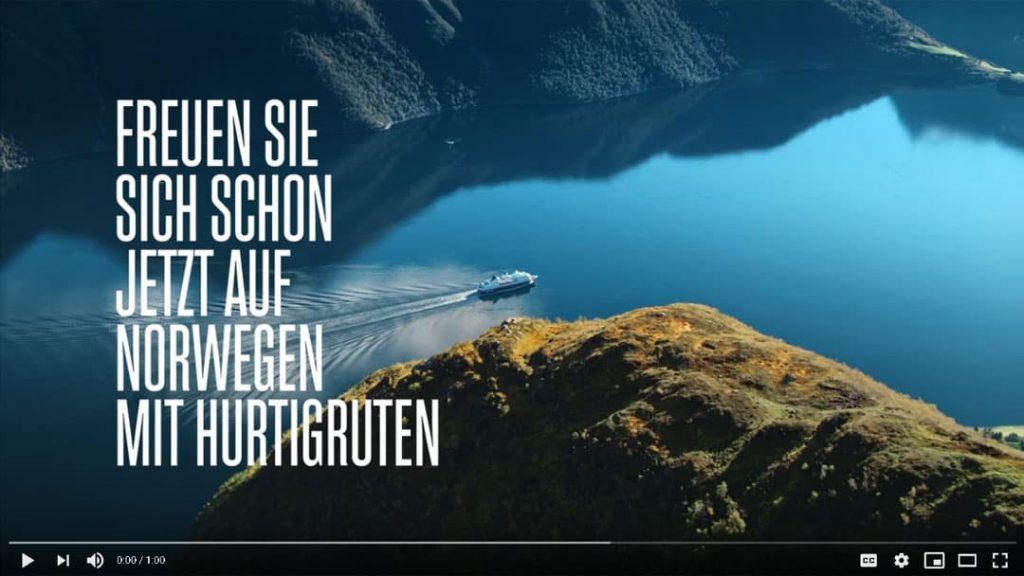 Hurtigruten Angebote: Postschiffreise Norwegen YouTube Video Vorschau