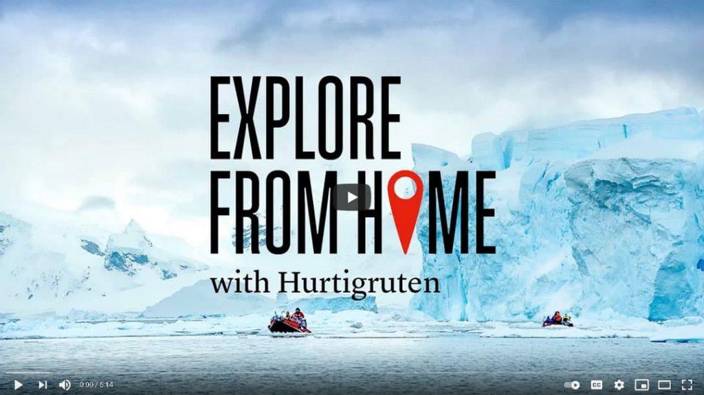 Hurtigruten Expedition Antarktis YouTube-Video Vorschau