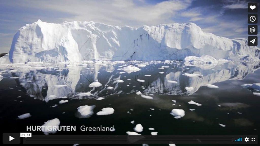 Hurtigruten Expedition Grönland Vimeo-Video Vorschau