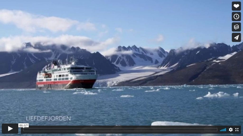 Hurtigruten Expedition Spitzbergen Vimeo-Video Vorschau