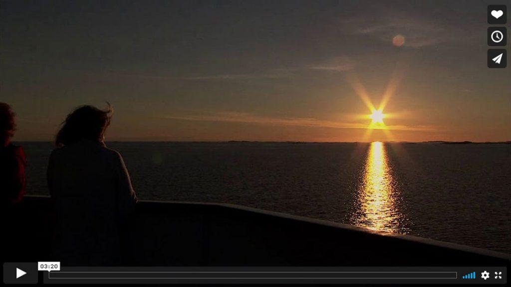 Hurtigruten beste Reisezeit Sommer Vimeo-Video Vorschau