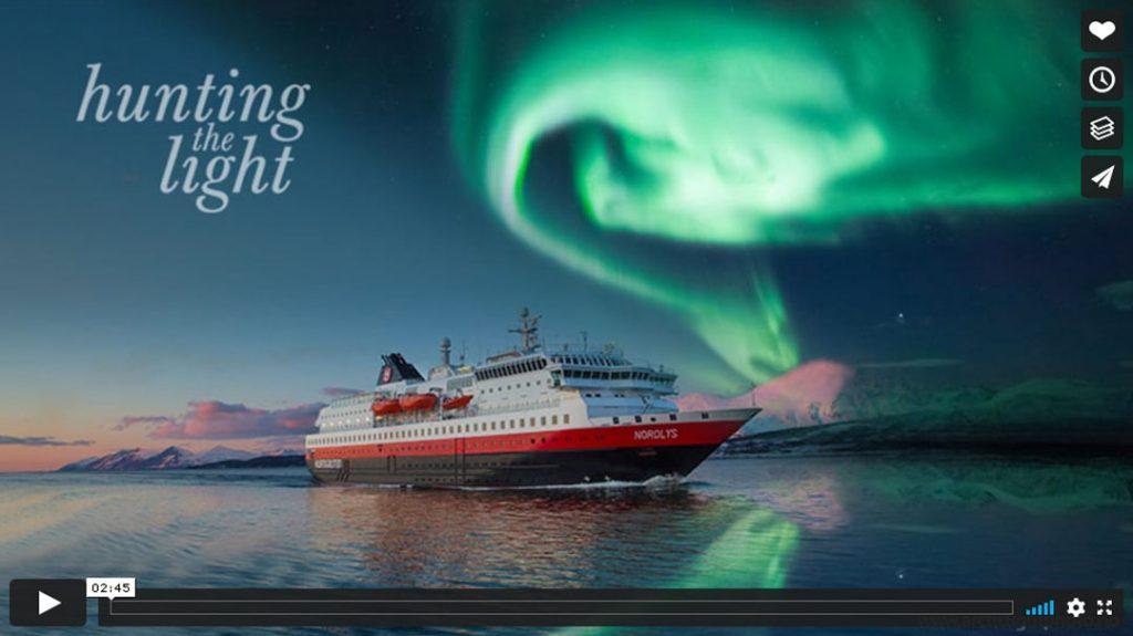 Hurtigruten beste Reisezeit Winter Vimeo-Video Vorschau