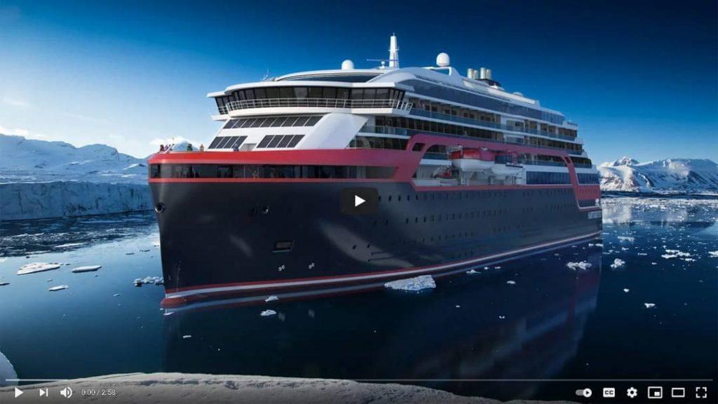 Hurtigruten Schiff MS Roald Amundsen Antarktis YouTube Video Vorschau