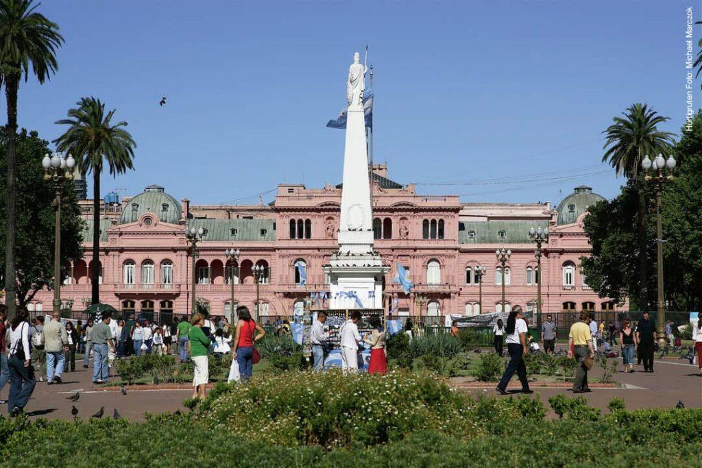 Hurtigruten Antarktis: Buenos Aires Argentinien