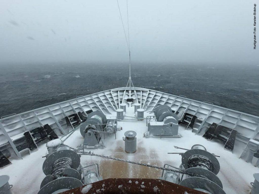 Hurtigruten Antarktis: Drake Passage