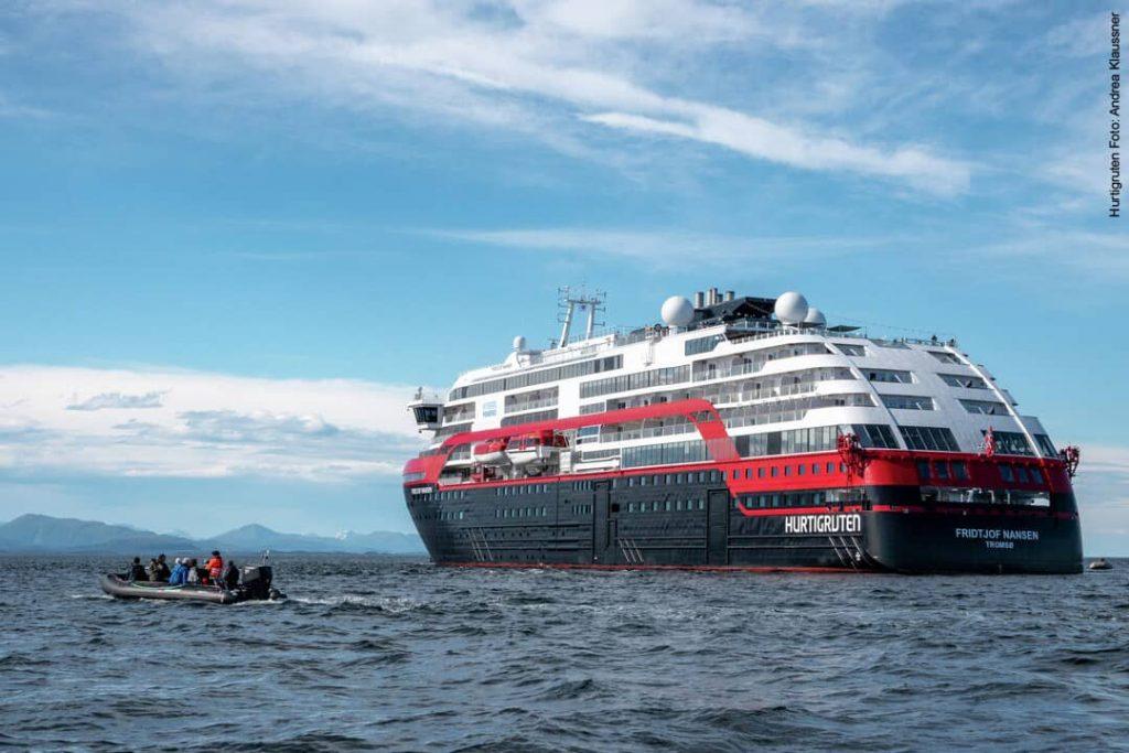 Hurtigruten Antarktis: MS Fridtjof Nansen