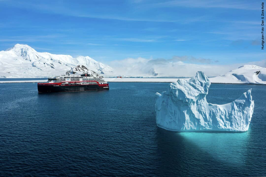 Hurtigruten Antarktis: MS Roald Amundsen