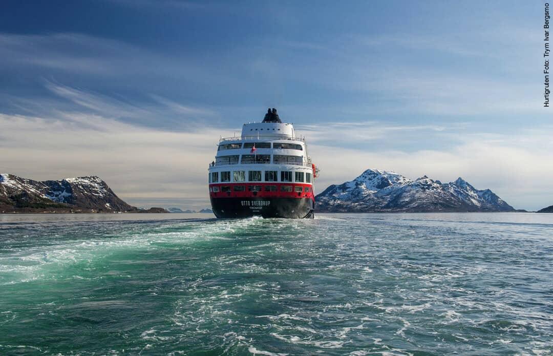 Hurtigruten ab Hamburg Schiff MS Otto Sverdrup